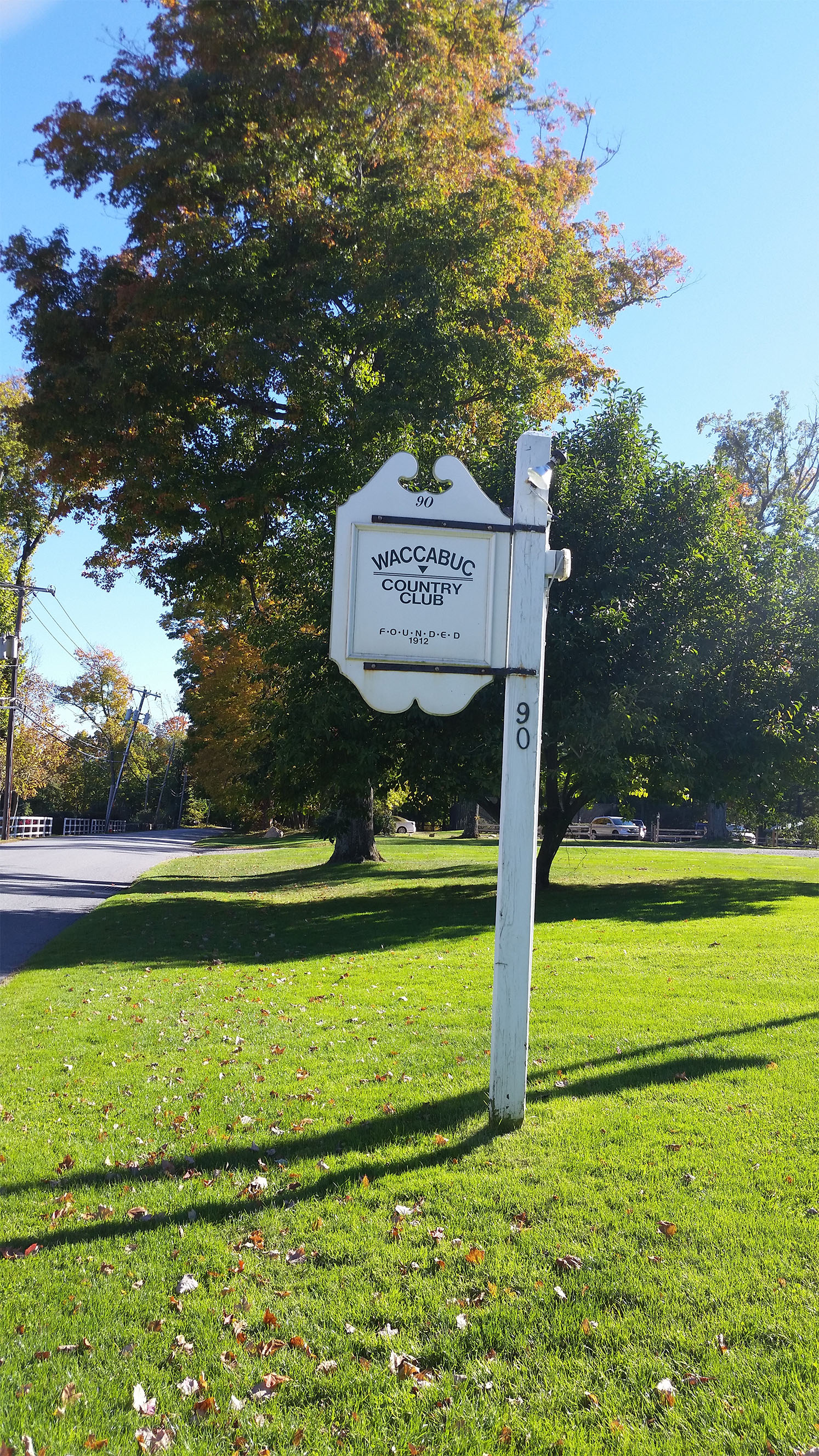 2. Country Club Sign